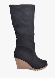 ac47ce4844ef8b Stiefel mit Keilabsatz - günstige Stiefel mit Keilabsatz im Online ...