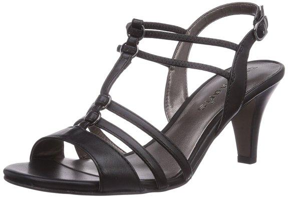 sandalen mit absatz kaufen online shop sale. Black Bedroom Furniture Sets. Home Design Ideas