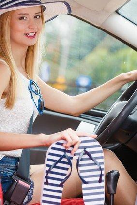 Darf Ich Mit Flip Flops Auto Fahren