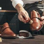 Pflege und Reinigung von Schuhen